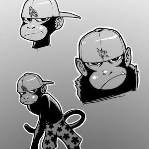 Naked Monkey Concept