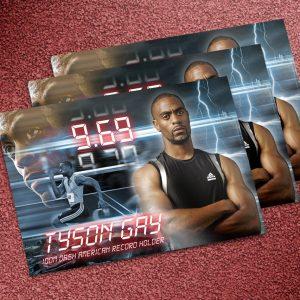Tyson Autograph card side 1